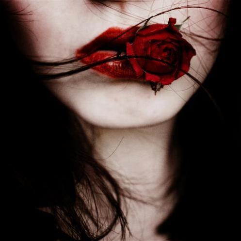 flor na boca